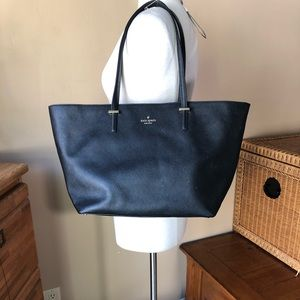 Kate Spade Leather Large Tote Bag - Needs Repair